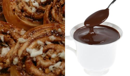 Chocolate caliente y golfeados 1