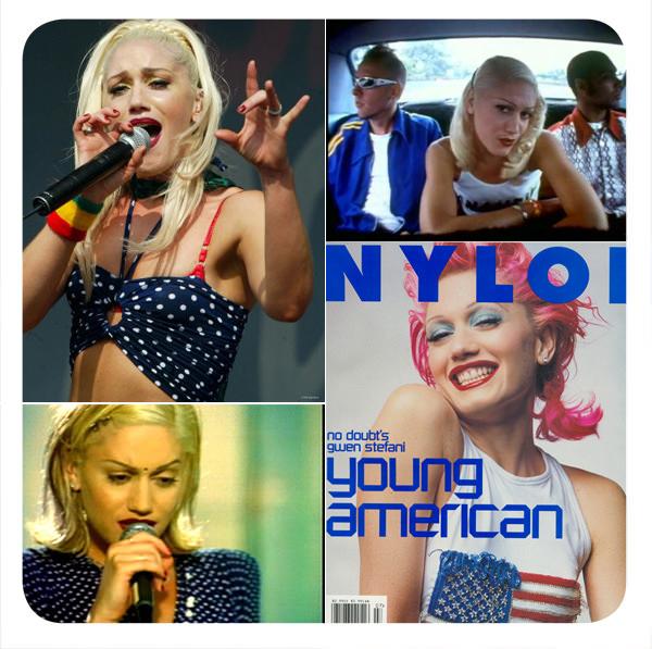 El look: Gwen Stefani en No Doubt 1