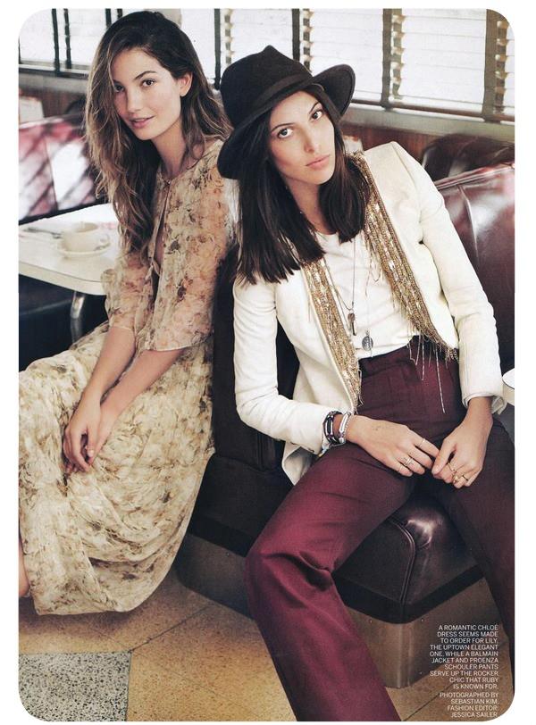 Las hermanas Aldridge, dos modelos opuestas 1
