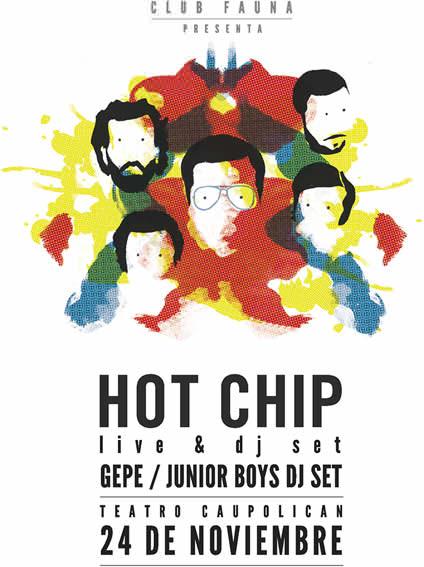 Noticias sobre Hot Chip en Chile 1
