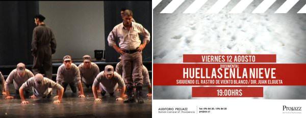 Huellas en la nieve, el documental basado en Viento Blanco y Antuco 1