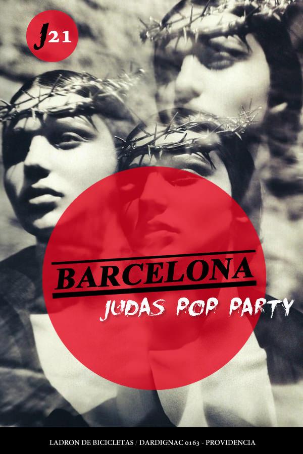JUE/21/04 Barcelona Judas Pop Party 1