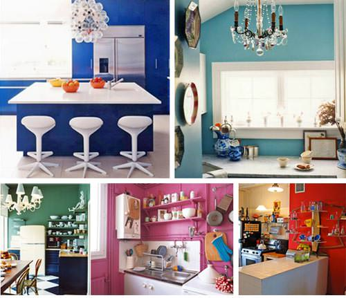 Ver colores para pintar una cocina comedor for Colores para cocina comedor