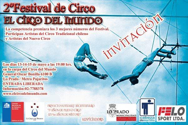 Segundo festival Circo del Mundo 1
