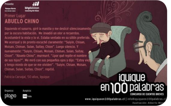 Los cuentos de Iquique y Antofagasta en 100 Palabras 1