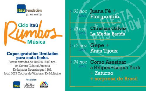Ciclo Itaú Rumbos Música 1