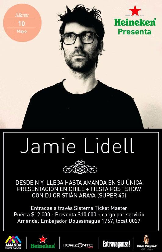 MAR/10/05 Jamie Lidell en vivo 1