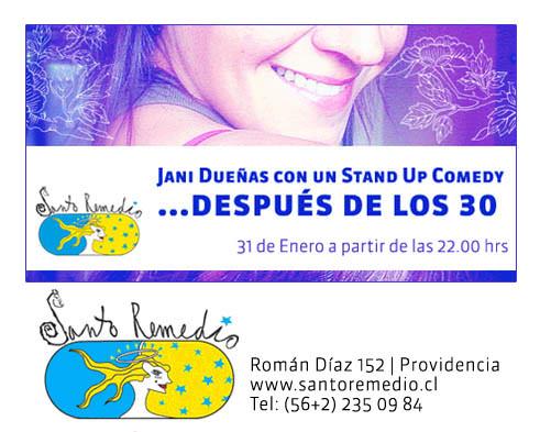 LUN/31/01 Stand up Jani Dueñas 1