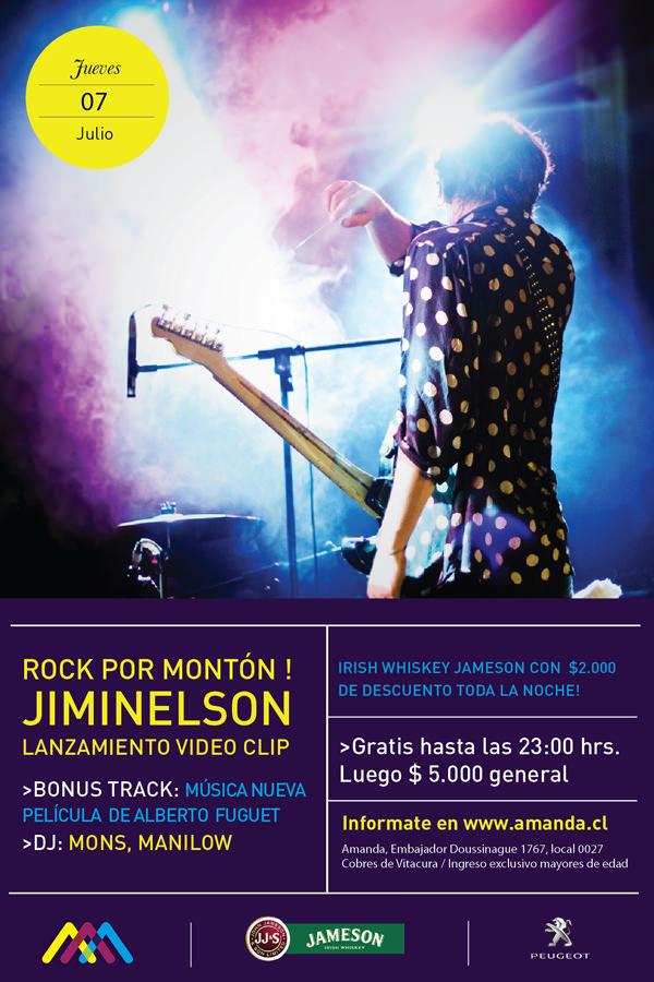 Jiminelson en vivo 1