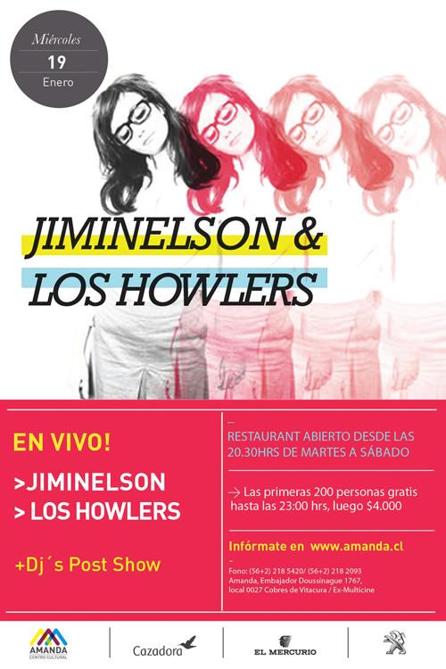 MIE/19/01 Jiminelson & Howlers en vivo 1