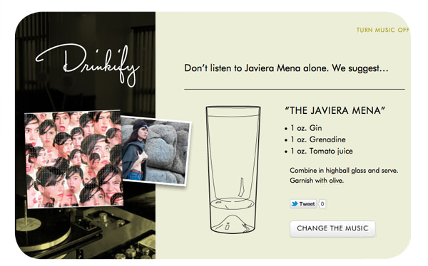 Música y alcohol: Drinkify 2