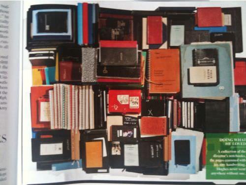 Los cuadernos de John Hughes en Vanity Fair 1