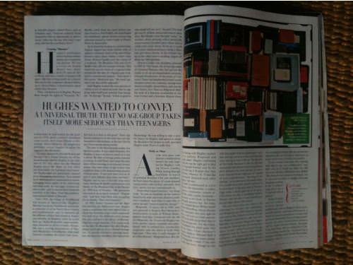 Los cuadernos de John Hughes en Vanity Fair 4