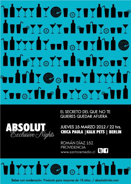 Santo Remedio: Absolut Exclusive Night 1