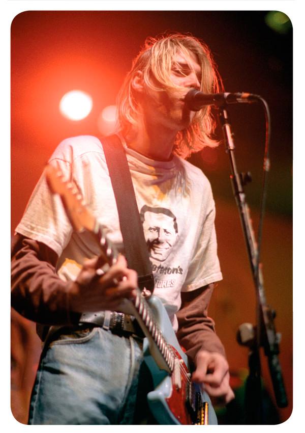 Kurt Cobain murió hace 18 años 1