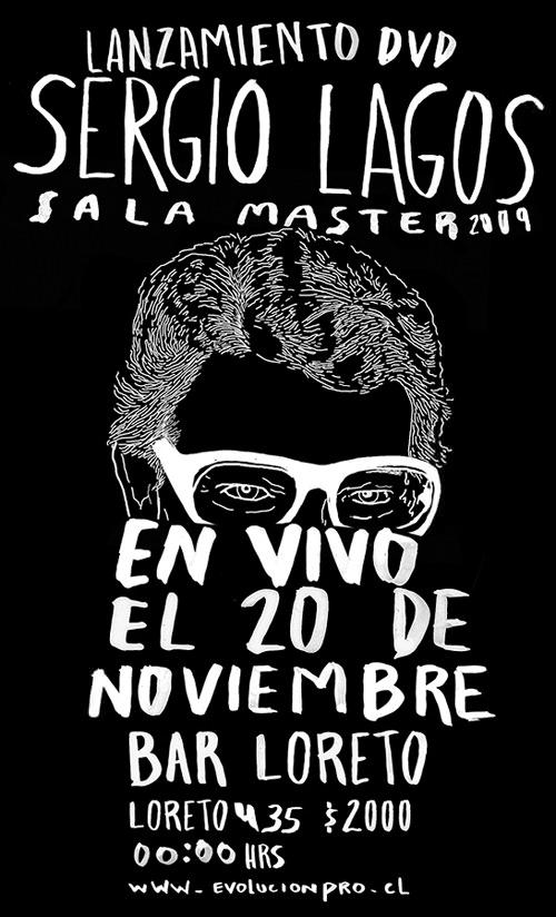 SAB/20/11 Sergio Lagos presenta su nuevo Dvd 1