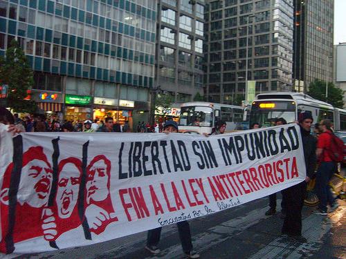 Mapuches en huelga de hambre 1