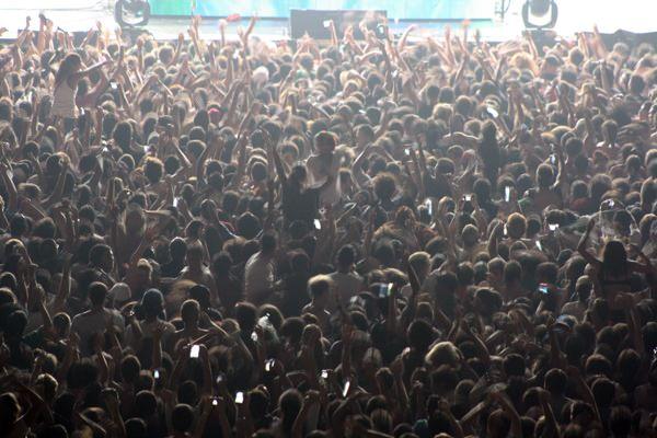 Apuntes día domingo 1 de abril, Lollapalooza 2012 12