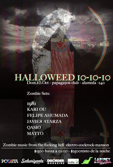 DOM/10/10 Halloweed 10/10/10 1
