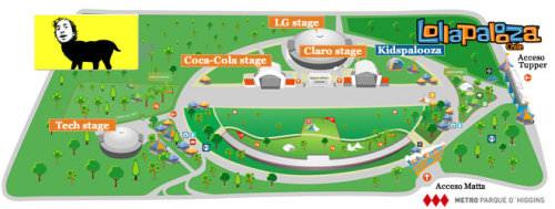 Los detalles del Festival Lollapalooza 1