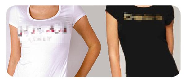 Odio la ropa con la marca a la vista 1