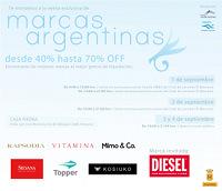Venta exclusiva de marcas argentinas 1