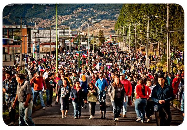 Puerto Aysén: La rabia de un pueblo 1