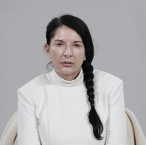 Acción de arte: Marina Abramovic y The Artist is Present 1