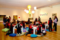 Talleres para niños en el Museo de Artes Visuales 1