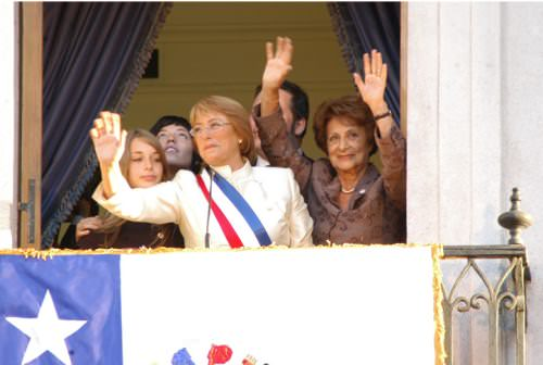 Michelle Bachelet termina su gobierno 1