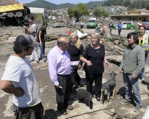 Michelle Bachelet termina su gobierno 2