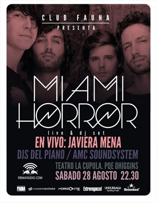SAB/28/08 Miami Horror en vivo 1
