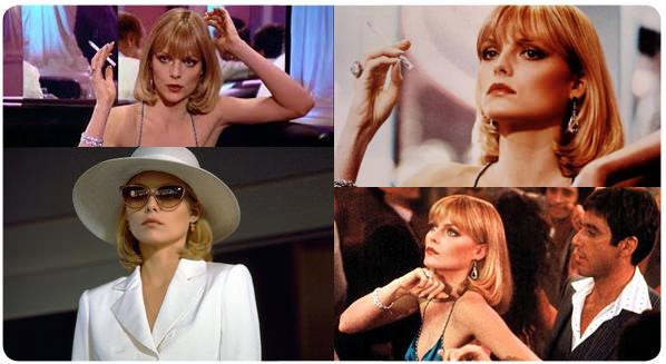 El look: Michelle Pfeiffer en Scarface 1