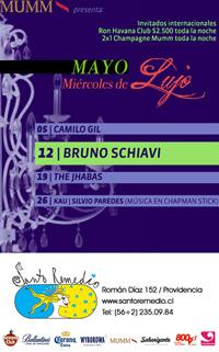 Bruno Schiavi en el Miércoles de Lujo de Santo Remedio 1