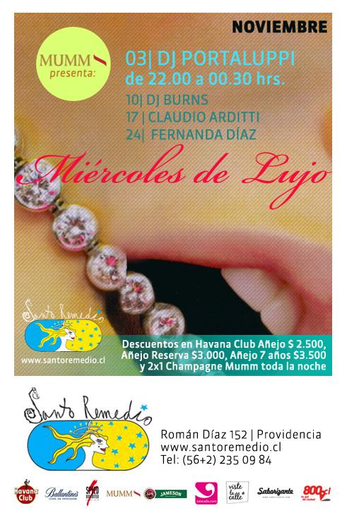 MIE/03/11 Miércoles de lujo en Santo Remedio 1
