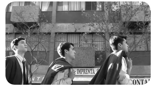La primera película de Los Prisioneros tiene trailer 1