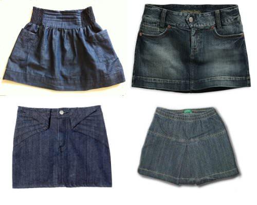 La mini de jeans: imprescindible 1