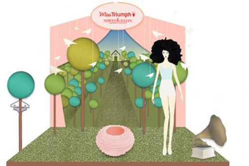 Hoy: lanzamiento nueva colección otoño-invierno Miss Triumph 1
