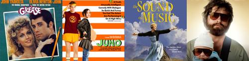 Mixtape: canciones interpretadas en películas 1