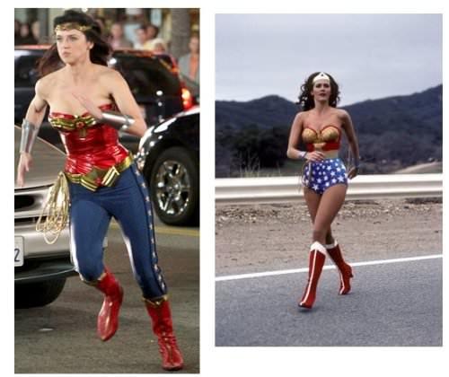 La nueva Mujer Maravilla versus la Mujer Maravilla original 2