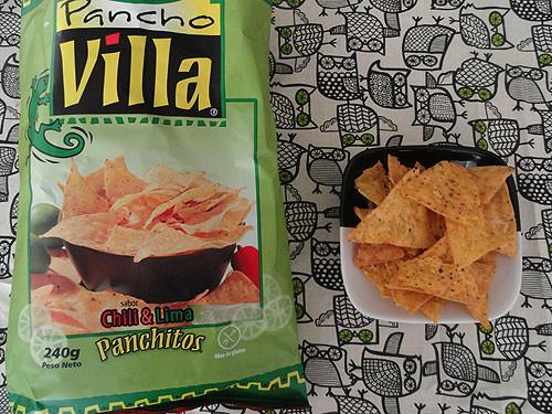 Panchitos: nachos sabor chili & Lima 1