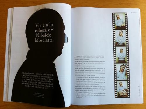 Nibaldo Mosciatti en revista Paula 1
