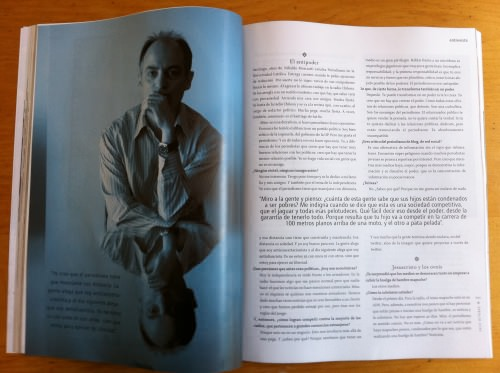 Nibaldo Mosciatti en revista Paula 2