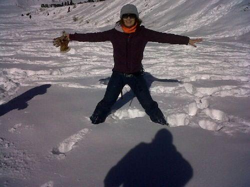 Mi primera vez en la nieve 1
