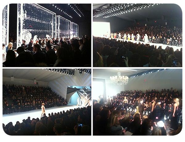 Recuento y backstage en la semana de la moda de Nueva York Otoño Invierno 2012 1