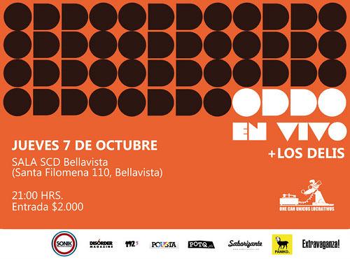JUE/07/10 Oddo + Los Delis 1