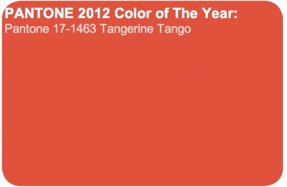 Tangerine tango: El color de año según Pantone 1