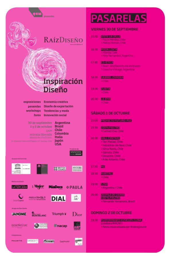 Pasarela Raíz Diseño 2011: muestras, desfiles, foros, películas 2
