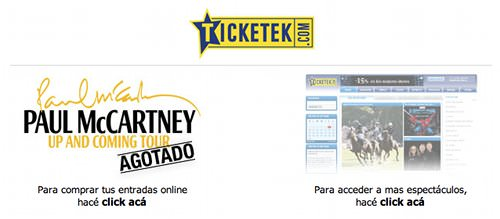 La histeria por el concierto de Paul McCartney en Argentina 1