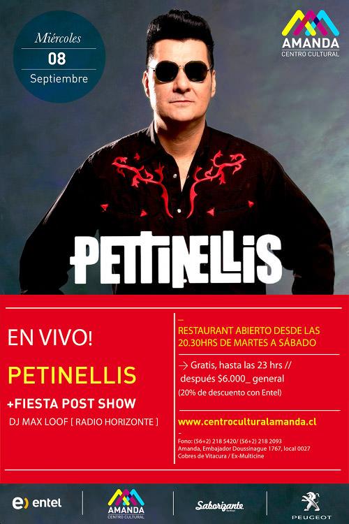 MIE/08/09 Los Petinellis en vivo 1